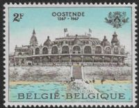 Belgium SG2016 1967 700th Anniversary of Ostend's Rank as Town 2f unmounted mint